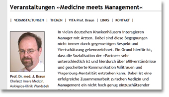 Medicine meets Management